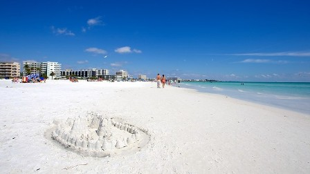 Siesta Key Beach! Consistently ranked among the top 5 beaches in the enitie world! You'll never experience whiter, more powder-textured sand than you will here!!!